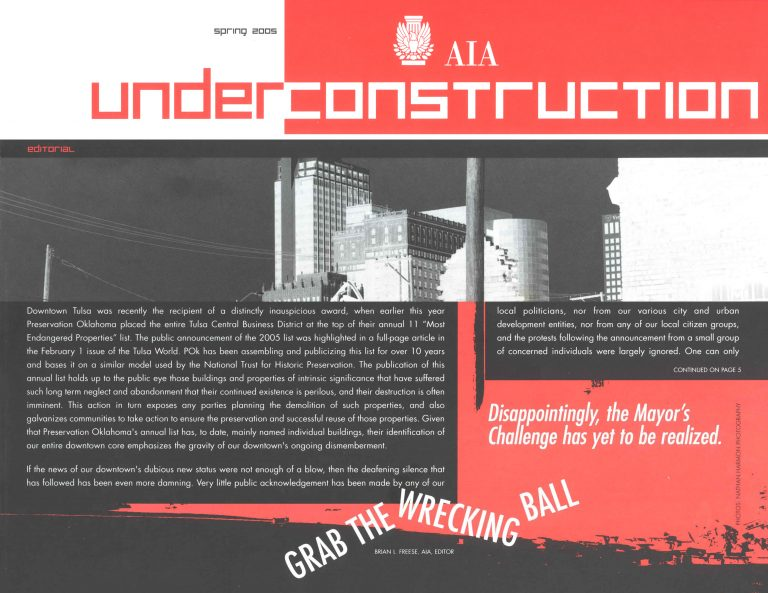 Under Construction: Grab the Wrecking Ball