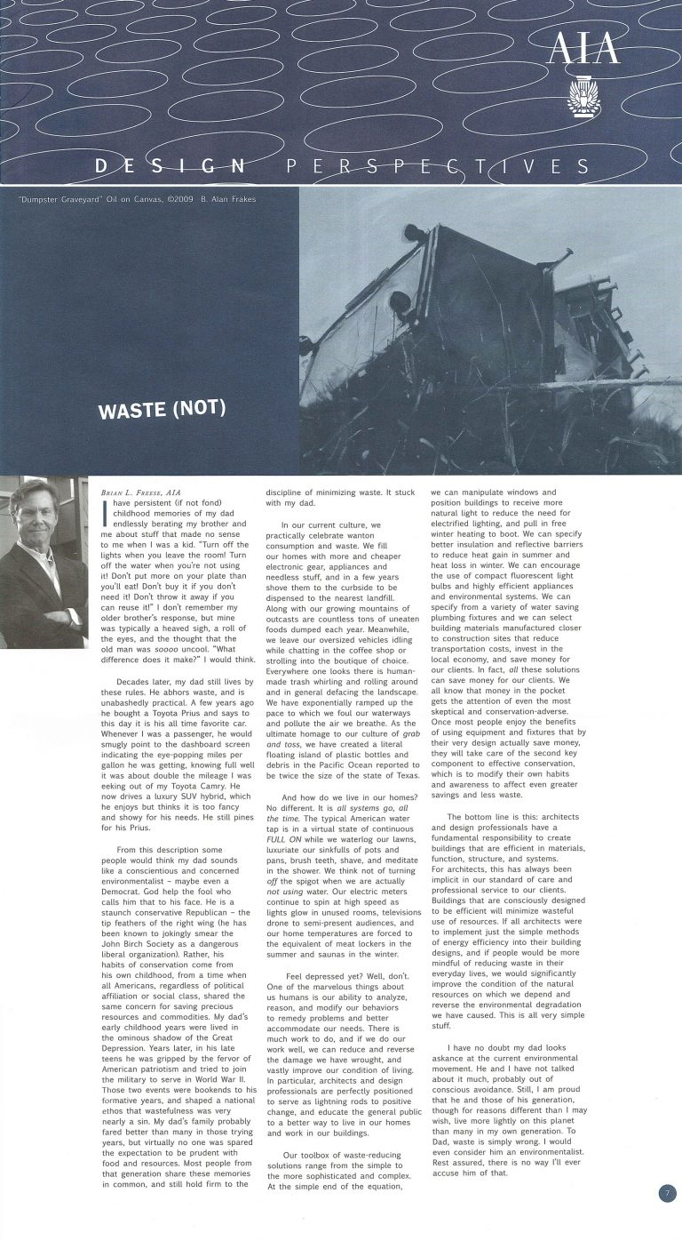 Design Perspectives: Waste (NOT)