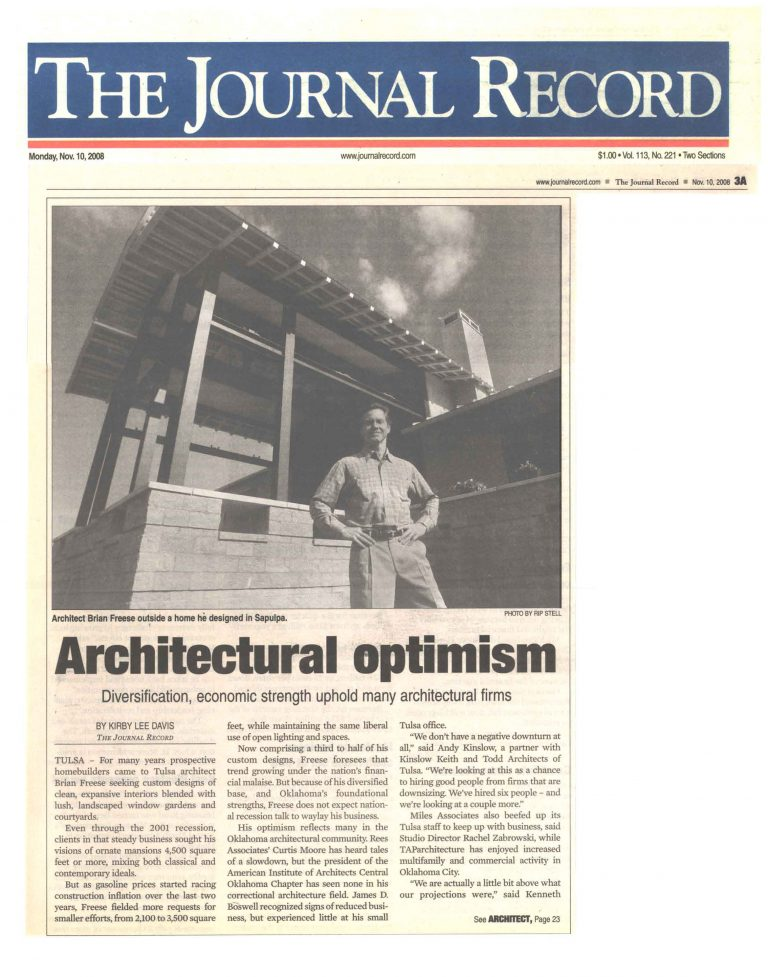 The Journal Record: Architectural optimism
