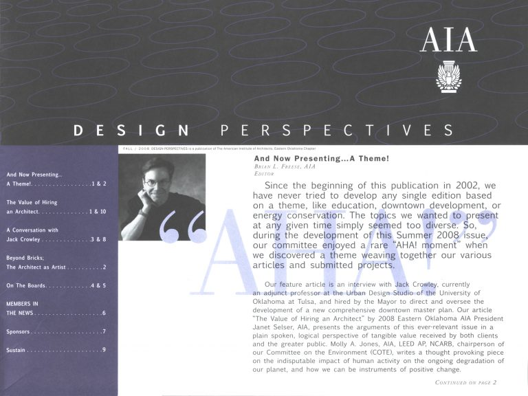 Design Perspectives: And Now Presenting… A Theme!