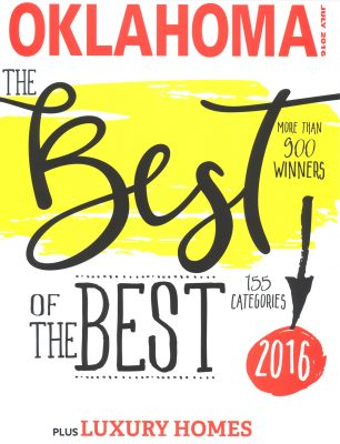 Oklahoma Magazine – Best of the Best Cover Photo