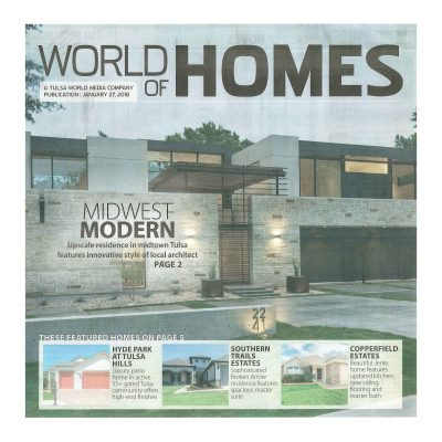 Tulsa World: World of Homes Cover Photo