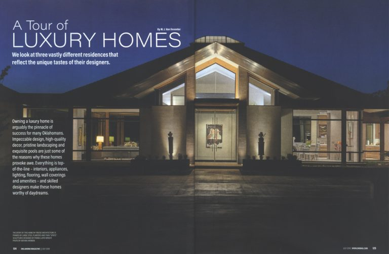 Oklahoma Magazine: A Tour of Luxury Homes