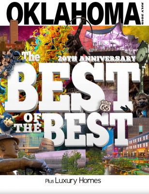 Oklahoma Magazine – Today's Definitions of Luxury; Best of the Best Cover Photo