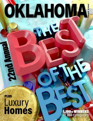 Oklahoma Magazine – A Study in Luxury Cover Photo